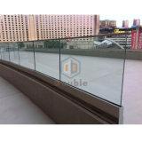 Canal U Verre de sécurité modernes balustrade balustrade en verre en acier