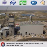 질에 의하여 조립식으로 만들어지는 증명서를 준 무거운 강철 구조물 공장 건물
