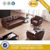 Oficina de cuero de PU sofá con las patas de acero inoxidable (HX-S173)