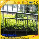 Kundenspezifischer China-Lieferanten-hölzernes Korn-Aluminiumstrangpresßling-Zaun