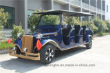 Тележки сбор винограда конструкции верхнего качества 6 мест автомобиль гольфа новой классицистической электрический
