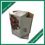 cadre ondulé de carton de pliage de cartons de cerise de carton du fruit 5kg