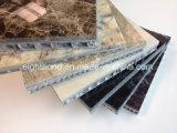 El panel de aluminio de piedra de mármol del panal del granito para la pared de cortina