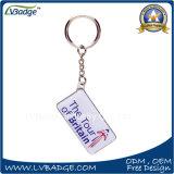Presente feito sob encomenda Keychain da lembrança do metal do logotipo da promoção