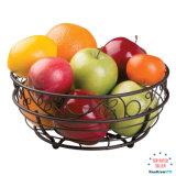 Cestino rotondo del supporto della frutta della cucina del metallo