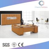 マネージャの左折の側面表の木製の事務机(CAS-ED31416)
