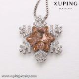 Цепочка-00327 Xuping оптовой рождественский подарок из кристаллов Swarovski снежинка ожерелья Ювелирные изделия