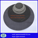 Tissu de fil noir en l'absence d'oxygène pour le filtrage