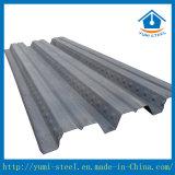 Hojas acanaladas y galvanizadas del Decking del suelo para los edificios a dos caras de la estructura