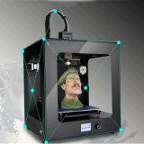 3D Auto Nivellerende één-Sleutel CR2020 stelt Grootte 200X200X200mm van het LEIDENE Hoogtepunt Geassembleerde 3D Af:drukken van de Printer Grote in werking
