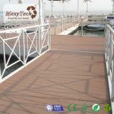 Decking extérieur en bois composé de produits de l'Anti-Rouille WPC