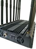 Nieuw allen in Één Volledige Blocker van de Telefoon van Jammercell van het Signaal van Frequenties met 14 Antennes