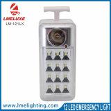 Lampada di soccorso ricaricabile portatile del LED