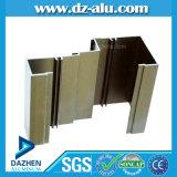 Perfil de alumínio personalizado da produção para o perfil da porta do indicador de Argélia