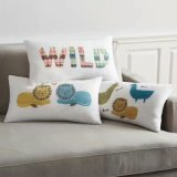 O prácticas Pillow-Cover decorativos con materiales de la ropa de fibra