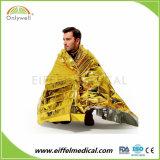 Медицинской помощи спасения серебряный золотой теплое одеяло первой помощи