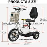 Rueda de la venta al por mayor 3 del fabricante del OEM plegable el triciclo eléctrico de la vespa de la movilidad para el adulto