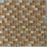 Materiales decorativos para el negro baldosa mosaico de cristal (BX1051)