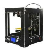 향상! Anet A3-S LCD 애처로운 스크린 0.1mm 정밀도 따로 잇기 3D 인쇄 기계