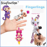 Interactive Finger Kids Toy Fart Fingerlings Baby Unicorn (XH-FL-002)