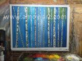 Cuchilla de paisaje de árbol de las pinturas de aceite crudo pesado y efecto textural