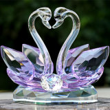 De nieuwe Zwaan van het Kristal van de Gift van het Huwelijk van het Ontwerp voor Huwelijk keurt de Belangrijkste voorwerpen van de Lijst goed