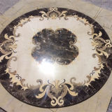 Reticolo di mosaico di pietra di marmo naturale