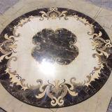 Modelo de mosaico de piedra de mármol natural