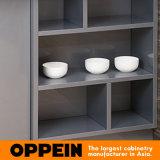Madeira compensada lisa padrão toda da borda E1 nos gabinetes de uma cozinha acrílicos DIY da unidade (OP15-011)