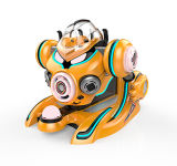 Suministro de fábrica el rodaje de cada uno de los otros 360 Gira Crazy Ride Robot para niños viajar en el Parque de Atracciones