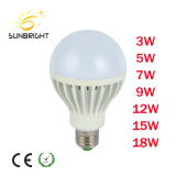 Bulbo favorável 5-12W do diodo emissor de luz do preço DC12V