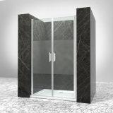 浴室フレーム8mmの透過強くされた振動ガラスシャワーバスのドア