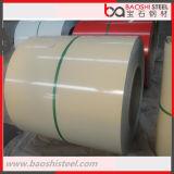 Chapa de aço Prepainted laminada a alta temperatura de PPGI PPGL na bobina