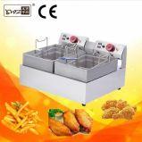 Première friteuse profonde industrielle de friteuse électrique de Tableau pour le canard/Chook/puces faisant cuire le matériel