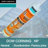 Puate d'étanchéité de silicones Dow corning NP pour l'usage universel