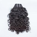 Волосы Remy Kinky выдвижения курчавых волос свободные курчавые индийские