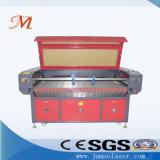 Donkere Automatische het Voeden van de Kleur Laser Scherpe Machine (JM-1610t-bij)