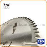 Tct de diamantes de la hoja de sierra circular de la hoja de sierra sierra de carburo para corte de madera de corte en aluminio