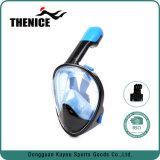 Thenice 새로운 디자인 180 액체 실리콘 파노라마 굵은 활자 잠수 스노클 가면