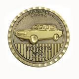 OEMの黄銅は記念品のギフトのための金属の挑戦硬貨を押した