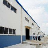 Taller de acero con la instalación de Qingdao Hapy 2016