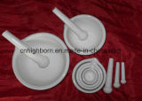 Crogiolo di ceramica di crogiolo del corindone refrattario