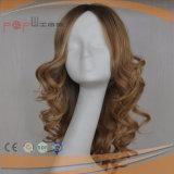 Peluca de gama alta superior de seda rubia (PPG-l-0532)