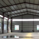 형식 디자인 빛 강철 구조물 건물