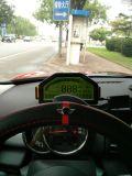 OBD2를 위한 차 픽업 대시 인종 LCD 스크린 전시
