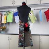 Avental de algodão Bib personalizado cozinha cozinha avental de churrascos para Mulheres