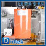 Didtek 낮은 토크 압축 공기를 넣은 액추에이터를 가진 포이에 의하여 거치되는 공 벨브
