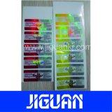 Test de conception d'impression bon marché personnalisé Cypionate hologramme Étiquette du flacon