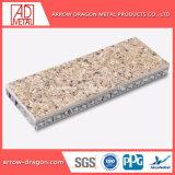 Granit Anti-Seismic ignifugé de panneaux en aluminium de placage de pierre Honeycomb pour Hall Wall/ Contexte mur/mur de l'élévateur