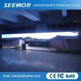 SMD 3528 hohe Helligkeit örtlich festgelegte LED-Innenbildschirmanzeige (P3.91) für Reklameanzeige